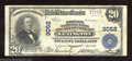 National Bank Notes:Kentucky, Lexington, KY - $20 1902 Plain Back Fr. 653 Phoenix NB & ...