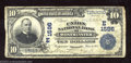 National Bank Notes:Maryland, Westminster, MD - $10 1902 Plain Back Fr. 624 The Union ...