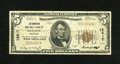 National Bank Notes:Colorado, Denver, CO - $5 1929 Ty. 1 The American NB Ch. # 12517. ...
