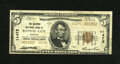 National Bank Notes:Missouri, Kansas City, MO - $5 1929 Ty. 2 The Columbia NB Ch. # 11472 TheColumbia was chartered in 1919, but elected to issue on...