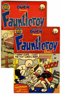 """Golden Age (1938-1955):Funny Animal, Fauntleroy Comics #1 and 3 Group - Davis Crippen (""""D"""" Copy)pedigree (Archie, 1953).... (Total: 2)"""