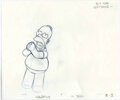 "Animation Art:Production Drawing, ""The Simpsons"" - Bart, Homer, and Marge Simpson, Milhouse, Kirk andLuann Van Houten Animation Drawing Original Art, Group of ...(Total: 19)"