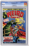 Bronze Age (1970-1979):Horror, Weird Wonder Tales #6 (Marvel, 1974) CGC NM+ 9.6 Off-white to whitepages....