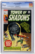 Bronze Age (1970-1979):Horror, Tower of Shadows #6 (Marvel, 1970) CGC NM+ 9.6 Off-white to whitepages....