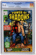 Bronze Age (1970-1979):Horror, Tower of Shadows #5 (Marvel, 1970) CGC NM 9.4 White pages....
