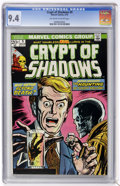 Bronze Age (1970-1979):Horror, Crypt of Shadows #9 (Marvel, 1974) CGC NM 9.4 Off-white to whitepages....