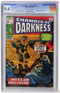 Bronze Age (1970-1979):Horror, Chamber of Darkness #5 (Marvel, 1970) CGC NM 9.4 Off-white to whitepages....