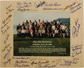 Autographs:Photos, 1994 Hall of Fame Induction Ceremonies Multi-Signed Photograph.Official group portrait snapped at the fifty-fifth annivers...