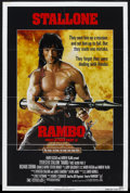 "Movie Posters:Action, Rambo: First Blood Part II (Tri Star Pictures, 1985). One Sheet(27"" X 41""). Action. Starring Sylvester Stallone, Richard Cr..."