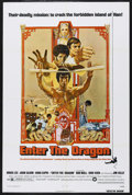 """Movie Posters:Action, Enter the Dragon (Warner Brothers, 1973). One Sheet (27"""" X 41"""").Bruce Lee/Martial Arts. Starring Bruce Lee, John Saxon, Kie..."""