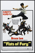 "Movie Posters:Action, Fists of Fury (National General, 1973). One Sheet (27"" X 41""). Bruce Lee/Martial Arts. Starring Bruce Lee, Maria Yi, James T..."