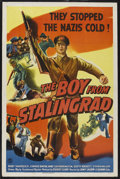 "Movie Posters:War, The Boy From Stalingrad (Columbia, 1943). One Sheet (27"" X 41""). War. Starring Bobby Samarzich, Conrad Binyon, Mary Lou Harr..."