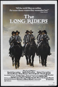"The Long Riders (United Artists, 1980). One Sheet (27"" X 41""). Western. Starring David Carradine, Keith Carrad..."