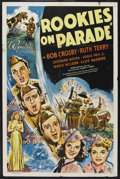 "Movie Posters:Musical, Rookies on Parade (Republic, 1941). One Sheet (27"" X 41""). Musical. Starring Bob Crosby, Ruth Terry, Gertrude Niesen, Eddie ..."