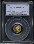 Proof Gold Dollars: , 1888 PR 65 Cameo PCGS. The current Coin Dealer ...