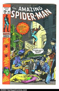 Amazing Spider-Man #96 (Marvel, 1971) Condition: VF. Drug book not approved by the comics authority. This book has tanni...