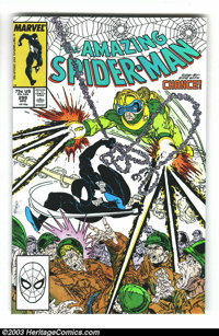 Amazing Spider-Man #299 and 300 Group (Marvel, 1988) Condition: Average NM-. Todd McFarlane art, and the first full appe...