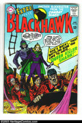 Silver Age (1956-1969):Adventure, Blackhawk Group (DC, 1966-67) Condition: Average VG+. Nine books make up this lot, including #216-222, 226, and 228. Overstr... (Total: 9 Comic Books Item)