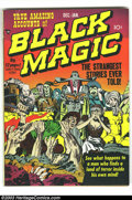 Golden Age (1938-1955):Horror, Black Magic V1#2 (Prize, 1950) Condition: GD/VG. Mort Meskin art.Joe Simon and Jack Kirby art. Overstreet 2003 GD 2.0 value...