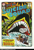 Silver Age (1956-1969):Adventure, The Brave and the Bold #39 Suicide Squad (DC, 1962) Condition: FN+. Ross Andru cover and art. Overstreet 2003 FN 6.0 value =...