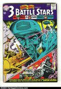 Silver Age (1956-1969):War, The Brave and the Bold #52 - 3 Battle Stars (DC, 1964) Condition: FN/VF. Features Sgt. Rock, Lt. Cloud, the Haunted Tank, an...