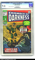 Bronze Age (1970-1979):Horror, Chamber of Darkness #5 (Marvel, 1970) CGC NM+ 9.6 Off-white towhite pages. Jack Kirby and Johnny Craig art. To date, no oth...