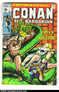 Bronze Age (1970-1979):Miscellaneous, Conan The Barbarian Group (Marvel, 1973). This lot consists ofissues #7 (FN/VF), 17 (NM), 19, (VF/NM), 22 (VF), 32 (NM), an...(Total: 6 Comic Books Item)