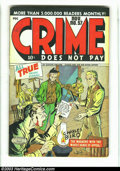 Golden Age (1938-1955):Crime, Crime Does Not Pay #57 (Lev Gleason, 1947) Condition: VG+. ClassicFifties crime title with Charles Biro cover. Overstreet 2...