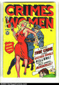 Golden Age (1938-1955):Crime, Crimes by Women #2 (Fox, 1948) Condition: VG/FN. A. C.Hollingsworth art. Issues from this series are always in demand.Over...