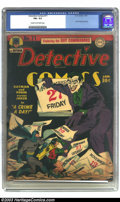 Golden Age (1938-1955):Superhero, Batman #4 (DC, 1940) CGC Apparent VF- 7.5 Slight (P) Cream to off-white pages. This issue has the third appearance of the Jo...