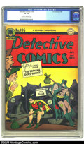 Golden Age (1938-1955):Superhero, Detective Comics #105 (DC, 1945) CGC FN 6.0 Cream to off-white pages. Only three copies of this issue have earned a higher g...