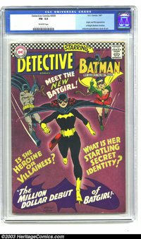 Detective Comics #359 (DC, 1967) CGC FN- 5.5 Off-white pages. Origin and first appearance of Batgirl (Barbara Gordon. Ca...