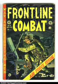 Frontline Combat #12 (EC, 1953) Condition: GD/VG. Special Air Force issue. Jack Davis, Alex Toth, George Evans, and Wall...