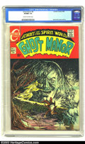 Silver Age (1956-1969):Horror, Ghost Manor #8 (Charlton, 1969) CGC VF/NM 9.0 Cream to off-whitepages. Atmospheric horror comic,with a nice Sanho Kim cover...