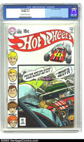 Bronze Age (1970-1979):Miscellaneous, Hot Wheels #1 (DC, 1970) CGC VF/NM 9.0 Off-white to white pages.Alex Toth cover and artwork. Overstreet 2003 VF/NM 9.0 valu...