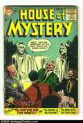 Silver Age (1956-1969):Mystery, House of Mystery Group (DC, 1956) Condition: Average GD+. #38, 39,47 and 53. Overstreet 2003 value for group = $70. ... (Total: 4Comic Books Item)