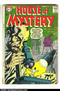 Silver Age (1956-1969):Mystery, House of Mystery Group (DC, 1957-1965) Condition: Average FR/GD.This lot consists of issues #68, 73, 90, 101, 114, 138, 142...(Total: 8 Comic Books Item)
