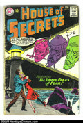Silver Age (1956-1969):Mystery, House of Secrets Group (DC, 1963-1966) Condition: Average GD. Thislot consists of issues #62 (x2), 68, 72-76, and 78. Overs...(Total: 8 Comic Books Item)