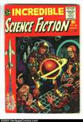Golden Age (1938-1955):Horror, Incredible Science Fiction #30 (EC, 1955) Condition: VG/FN. Firstissue, formerly Weird Science-Fantasy. Wally Wood, Ber...