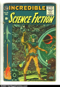 Golden Age (1938-1955):Science Fiction, Incredible Science Fiction #33 (EC, 1956) Condition: GD. Wally Woodcover with interior art by Jack Davis and Joe Orlando. O...