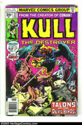 Bronze Age (1970-1979):Miscellaneous, Kull the Conqueror #22 - 35 Cent Price Variant (Marvel, 1977)Condition = VG/FN. This is the scarce, if not outright rare, l...