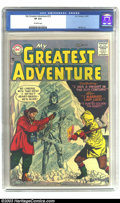 Silver Age (1956-1969):Adventure, My Greatest Adventure #13 (DC, 1957) CGC VF 8.0 Off-white pages. Bill Ely art. Overstreet 2003 VF 8.0 value = $167. ...