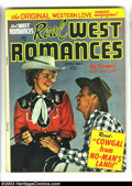 Golden Age (1938-1955):Romance, Real West Romances Group (Crestwood Publishing/Prize Publications, 1949-1950). This lot consists of issues #1 (VG), 2 (GD/VG... (Total: 7 Comic Books Item)