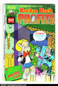 Bronze Age (1970-1979):Cartoon Character, Richie Rich Profits #1 (Harvey, 1974) Condition: VF/NM. Cool firstissue of this Richie Rich title. Overstreet 2003 VF/NM 9....