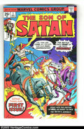Bronze Age (1970-1979):Superhero, Son of Satan Group of Four (Marvel, 1975-76) Condition: Average FN.This lot contains issue #1-4. Issue #4 is water damaged.... (Total:4 Comic Books Item)