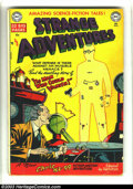 Golden Age (1938-1955):Horror, Strange Adventures #5 (DC, 1951) Condition: VG-. Cool invisible mancover, amazing science-fiction tales. Overstreet 2003 VG...