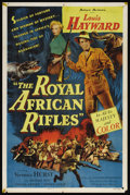 "Movie Posters:Adventure, The Royal African Rifles (Allied Artists, 1953). One Sheet (27"" X41""). Adventure...."