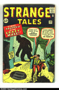 Silver Age (1956-1969):Mystery, Strange Tales #100 (Marvel, 1962) Condition: VG+. Jack Kirby coverand art. Plus Don Heck and Steve Ditko art. Overstreet 20...