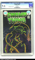 Bronze Age (1970-1979):Horror, Swamp Thing #8 (DC, 1974) CGC NM+ 9.6 White pages. Berni Wrightsoncover and art. To date CGC hasn't awarded a higher grade ...