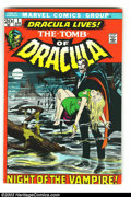 Bronze Age (1970-1979):Horror, Tomb of Dracula Group (Marvel, 1972) Condition: Average FN. Thislot consists of issues #1, 4, and 5. Overstreet 2003 value ...(Total: 3 Comic Books Item)
